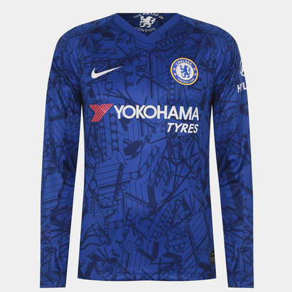 Chelsea FC Long Sleeve Home Jersey Mens