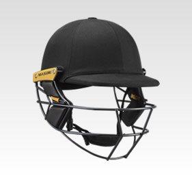 Black Cricket Helmets