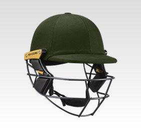 Green Cricket Helmets