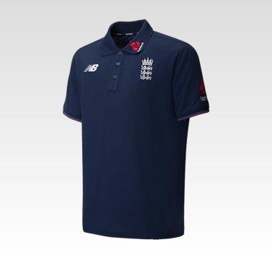 England Cricket Polo Shirts