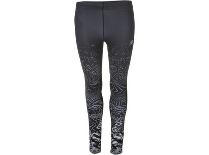New Balance Impact Print Tights Ladies