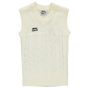 Slazenger Classic Cricket Vest Junior