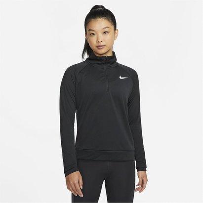 Nike Pacer Womens Long Sleeve  half  Zip Running Top