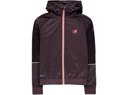 Karrimor Girls Plum XLite Jacket Junior