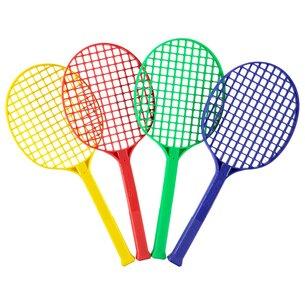 Slazenger 4 Pack Mini Tennis Rackets