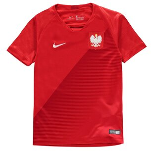 Nike Poland Away Shirt 2018 Junior