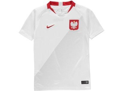 Nike Poland Home Shirt 2018 Junior