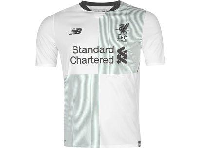 New Balance Liverpool Away Shirt 2017 2018 Mens
