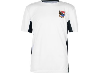 Team Rugby 2019 South Africa Poly T Shirt Mens