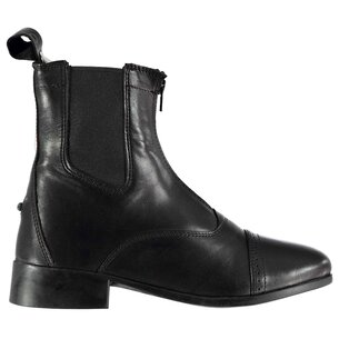 Dublin Ladies Elevation II Zip Paddock Boots - Black