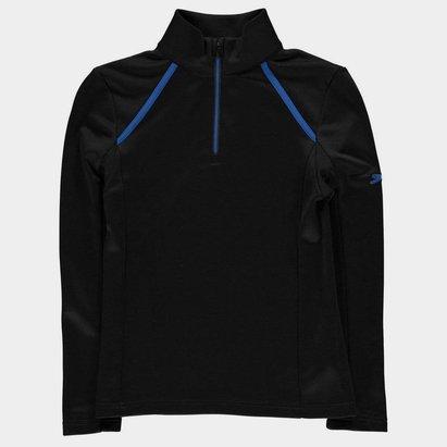 Slazenger Zip Pullover Junior Boys