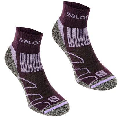 Salomon Merino Low 2 Pack Ladies Walking Socks