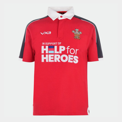 VX-3 3 Help 4 Heroes Wales Shirt Mens