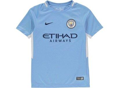 Nike Manchester City Home Shirt 2017 2018 Junior