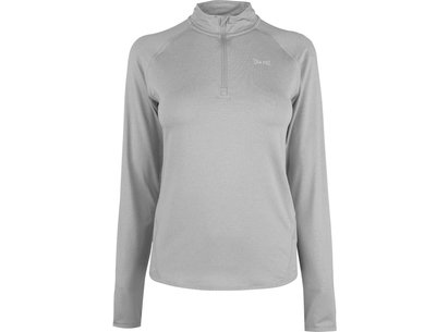 USA Pro Long Sleeve Zip Top Ladies
