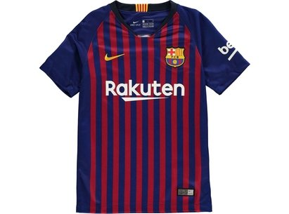 Nike Barcelona Home Shirt 2018 2019 Junior
