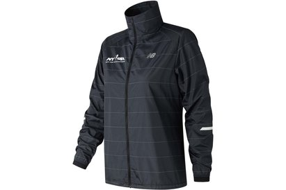New Balance Reflective Pack Jacket Ladies