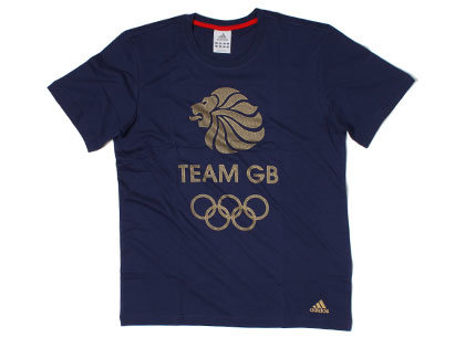 adidas Team GB T Shirt Mens