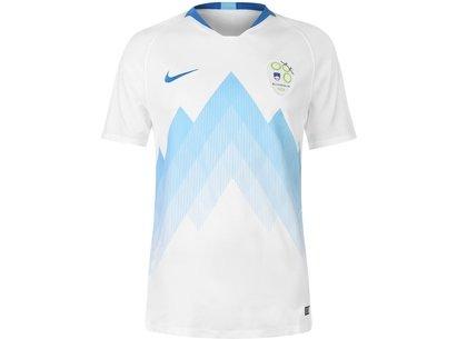 Nike Slovenia Home Shirt 2018