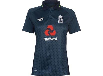 New Balance England Cricket ODI Shirt 2018 2019 Ladies