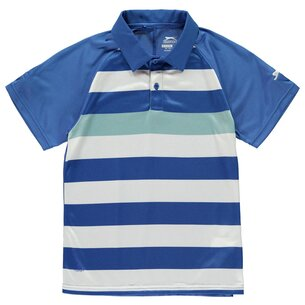 Slazenger Bold Stripe Polo Shirt Junior Boys