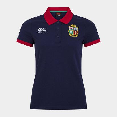 Canterbury British and Irish Lions Polo Shirt Ladies