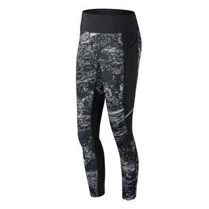New Balance Printed Impact Running Tights Ladies