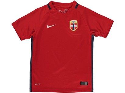 Nike Norway Home Shirt 2016 Junior Boys