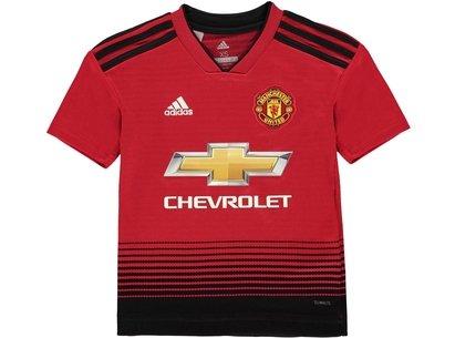 adidas Manchester United Home Shirt 2018 2019 Junior