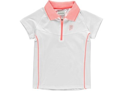 Prince Half Zip Tech Tennis Shirt Juniors