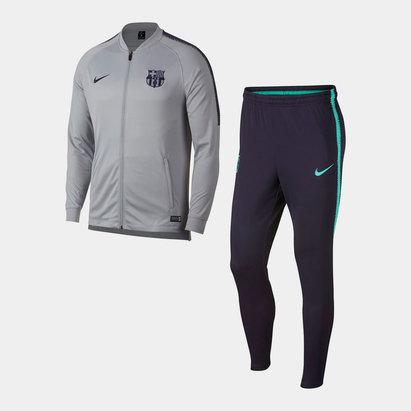 Nike FC Barcelona Squad Tracksuit Mens