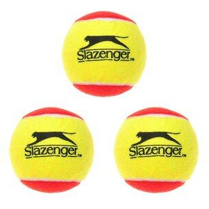 Slazenger Stage 3 Red 3 Pack Mini Tennis Balls