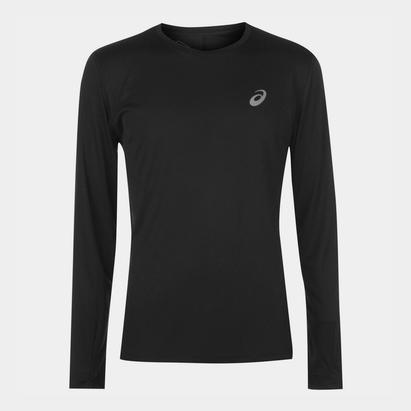 Asics Core Long Sleeve Running T Shirt Mens