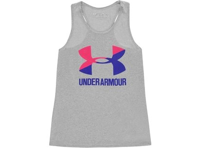 Under Armour Big Logo Tank Top  Junior Girls