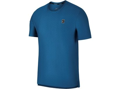 Nike Check Court Tennis Top Mens