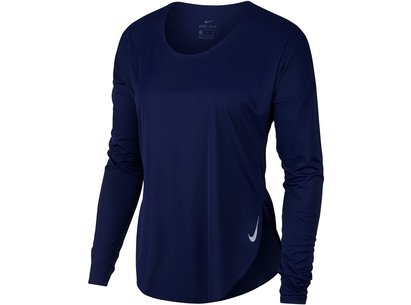 Nike City Sleek Running Top Ladies