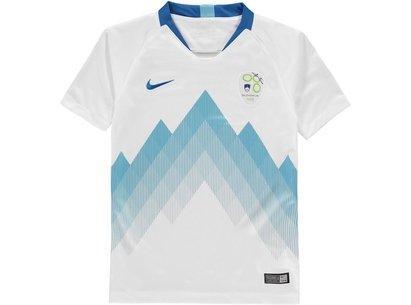 Nike Slovenia Home Shirt 2018 Junior