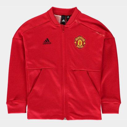 adidas Manchester United ZNE Jacket 2018 2019 Junior