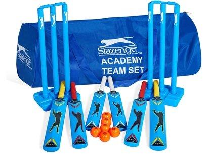 Slazenger Academy Team Plastic Cricket Set