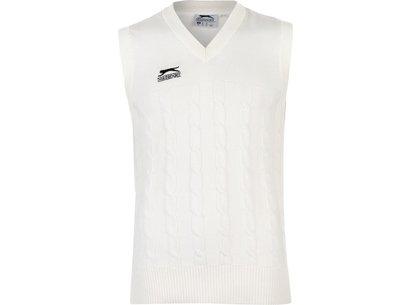 Slazenger Classic Cricket Vest Mens