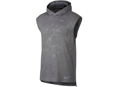 Nike Element Sleeveless Running Hoodie Mens