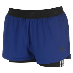 adidas 2 In 1 Shorts Ladies