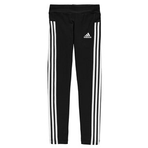 adidas 3 Stripe Tights Junior Girls