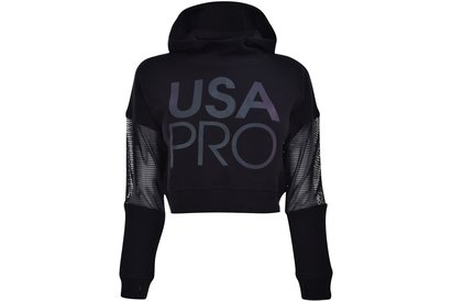 USA Pro Mesh Crop OTH Hoodie Junior Girls