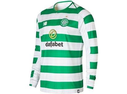 New Balance Celtic Long Sleeve Home Shirt 2018 2019