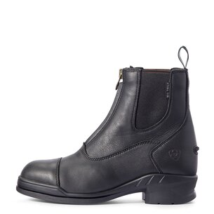 Ariat Heritage IV Steel Toe Cap Zip Ladies Paddock Boots - Black