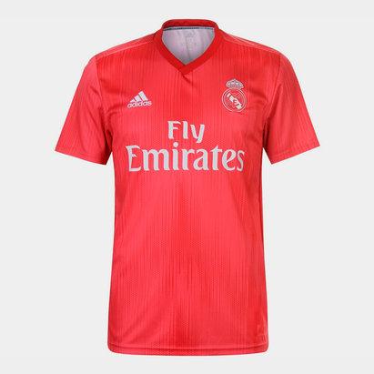 Real Madrid 18/19 3rd S/S Football Shirt
