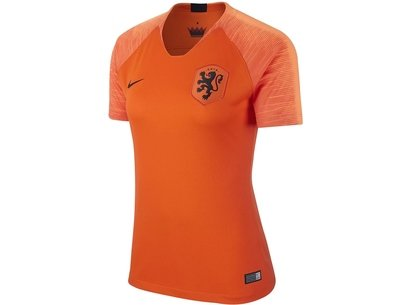 Nike Holland Home Shirt 2018 Ladies