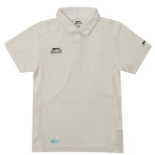 slazenger Aero Cricket Shirt Juniors