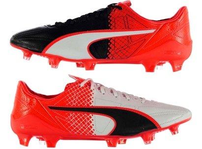 Puma evo Speed SL Leather FG Football Boots Mens